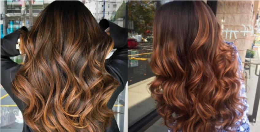 Balayage Caramel : la tendance qui illuminera la crinière de toutes les brunettes !