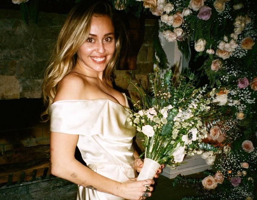 miley cyrus liam hemsworth mariage saint-valentin instagram