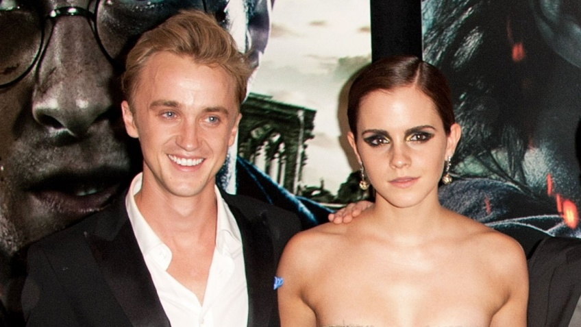 Tom Felton et Emma Watson instagram photo
