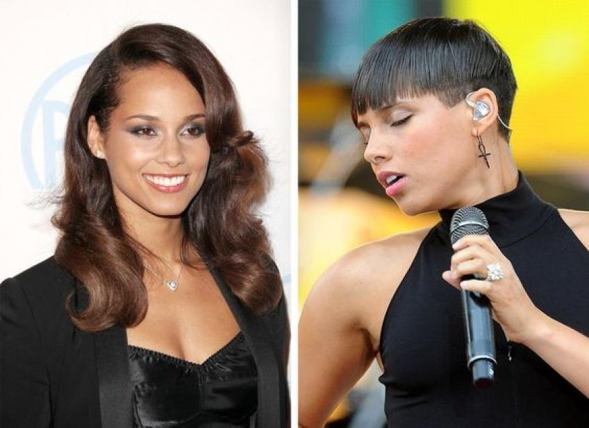 célébrités changement look apparence