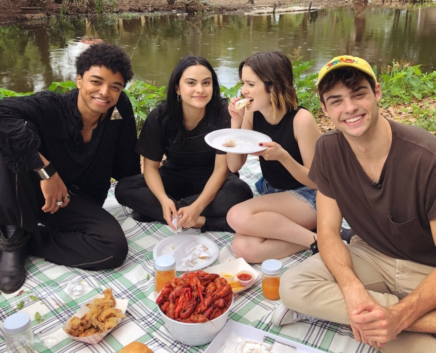 The perfect date Noah Centineo et Camila Mendes Netflix