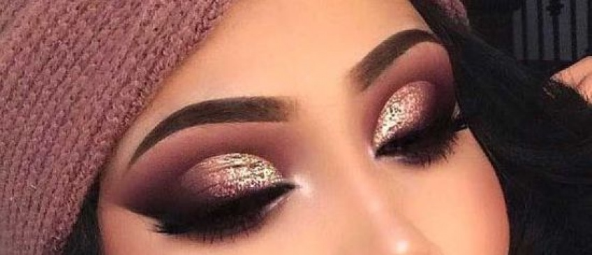Les plus beaux smoky-eyes pailletés pour en mettre plein la vue !