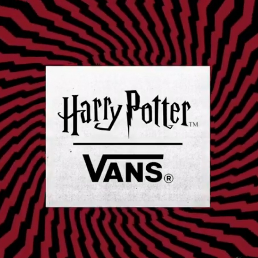Vans lance une nouvelle collection magique inspirée de l'univers d'Harry Potter !