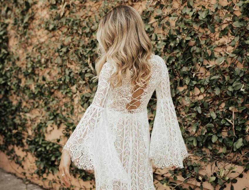 Les robes de mariée chics et bohèmes qui vont vous épater par leur beauté !