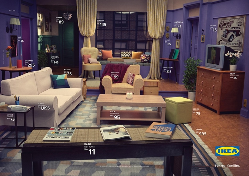 Friends, Stranger Things, Les Simpsons... : Ikea recrée les intérieurs de nos séries préférées !