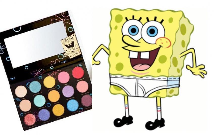Une collection make-up inspirée de Bob L'Éponge existe enfin !
