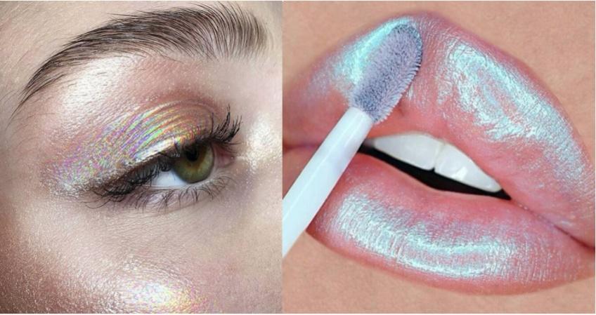 Le make-up holographique : la tendance qui revient en force cet été !