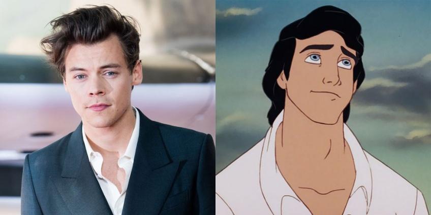 Harry Styles pressenti pour interpréter le rôle du prince Eric dans le remake de la Petite Sirène !