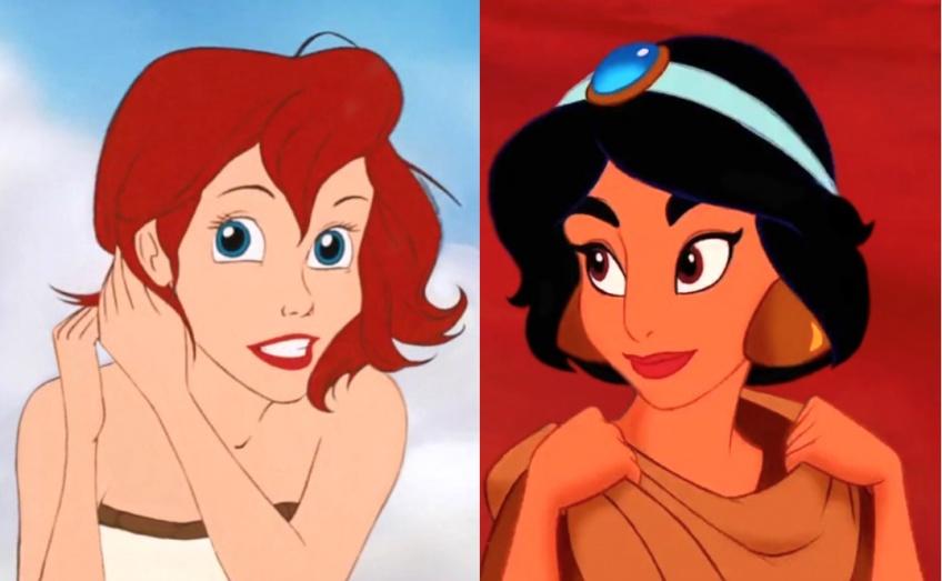 Et si les princesses Disney avaient les cheveux courts ?