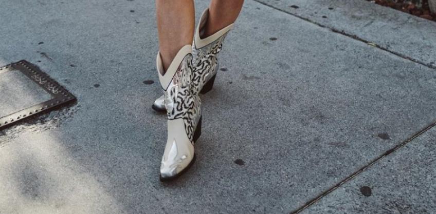 Mode shoesday bottes cowboy rentrée