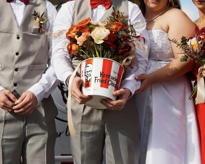 KFC mariage Australie