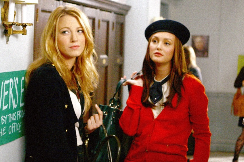 10 ans apparition Emmys Blake Lively Leighton Meester