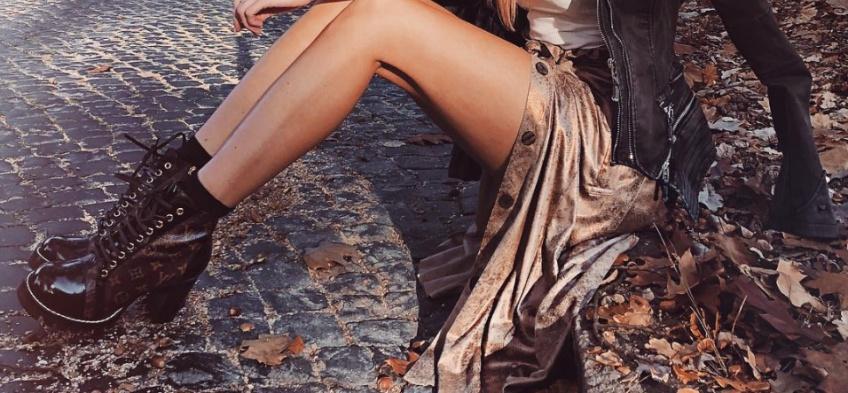 bottines à lacets automne