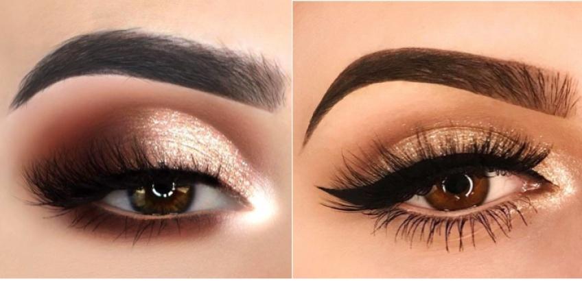 Les palettes les plus automnales pour sublimer les yeux marrons !