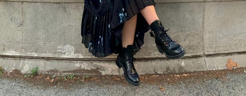 bottes motardes bad girl automne