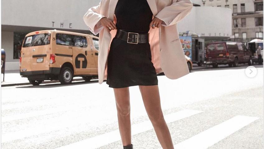 looks instagram mini-jupe style automne