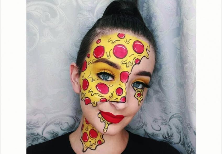 Ce make-up Pizza spécial Halloween est alléchant et effrayant à la fois !