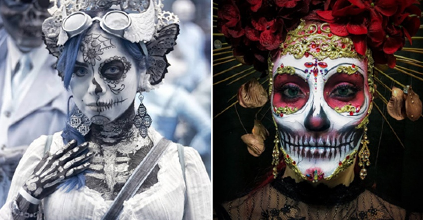 La célébration du 'Jour des morts' en images impressionnantes !