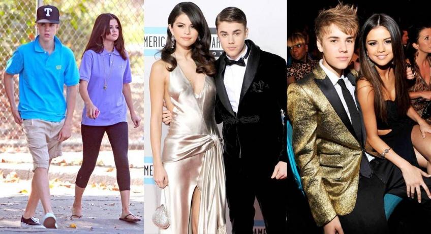 histoire Justin Bieber Selena Gomez