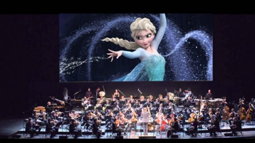 tournée ciné-concerts disney france