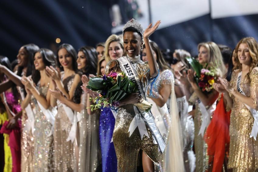 La Nouvelle Miss Univers est Miss Afrique du Sud !