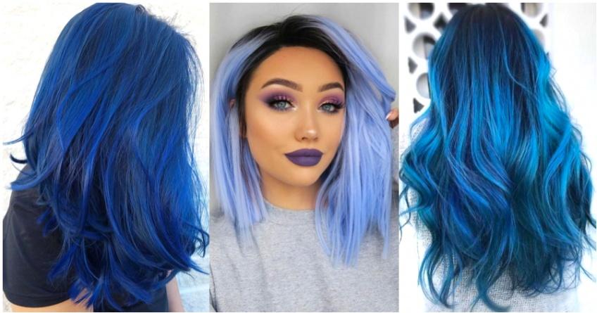 Cet hiver, on sublime notre style avec les cheveux bleus !