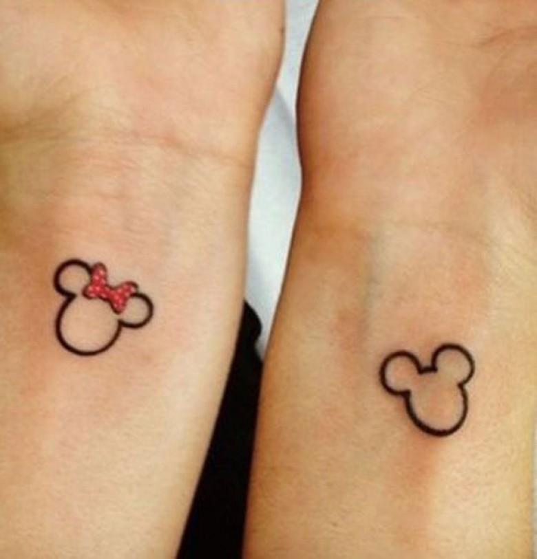 tatouage en commun pour couple id es de
