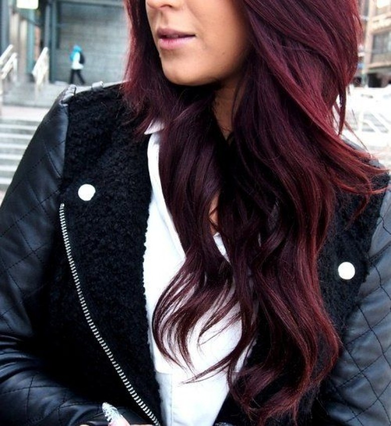Differente couleur de cheveux rouge