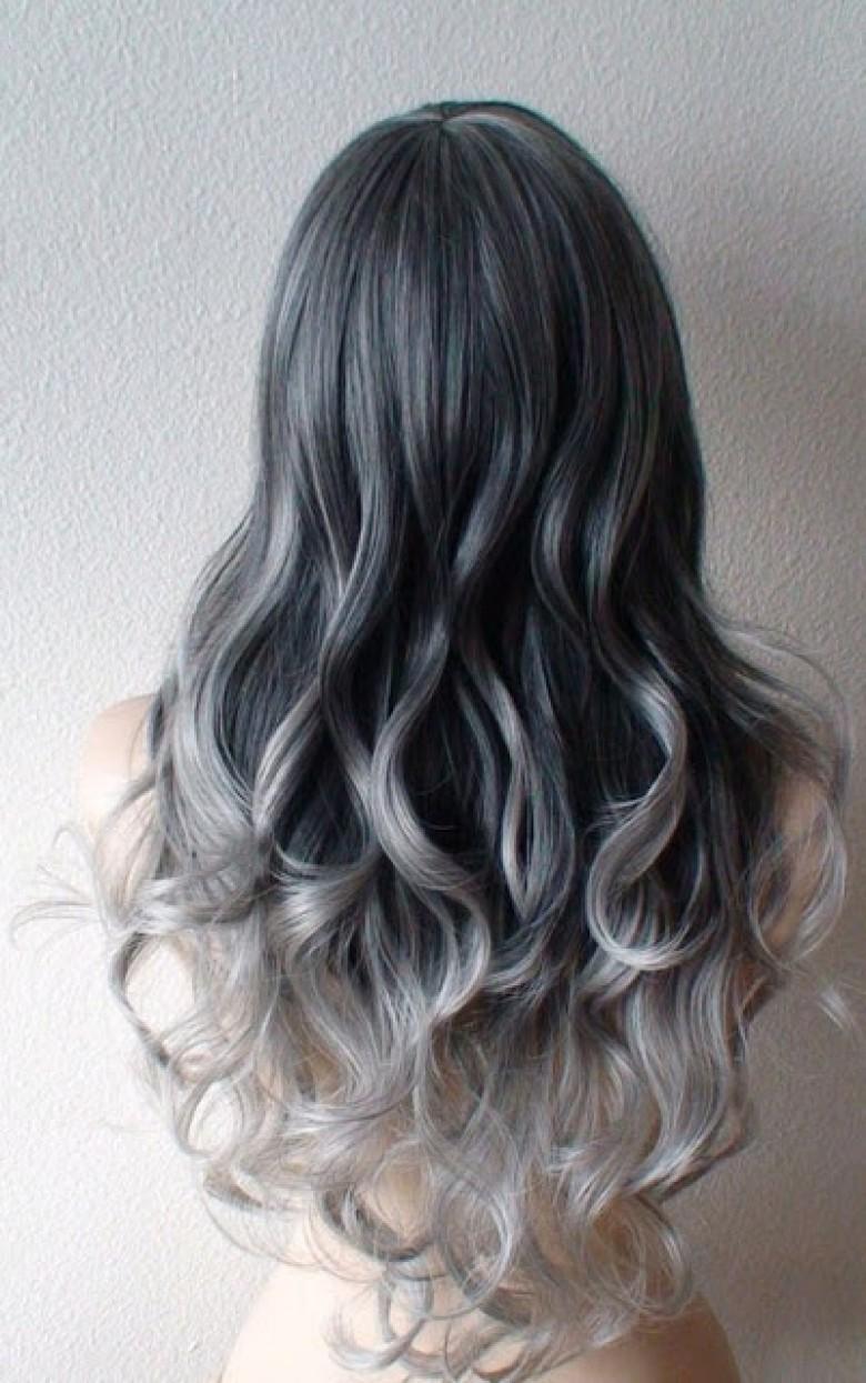 l 39 ombr gris la tendance cheveux qui affole le web les claireuses. Black Bedroom Furniture Sets. Home Design Ideas