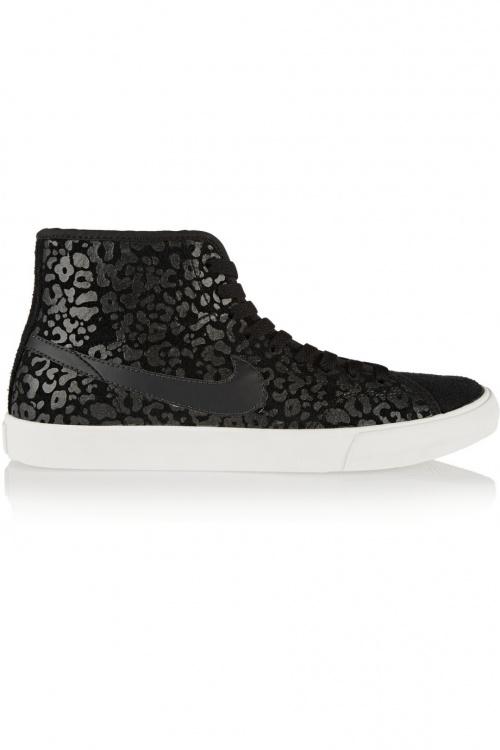 Primo Court Mid Nike Grise Leopard Femme Basket rhtQds