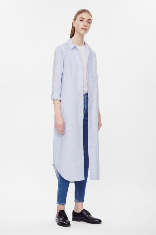 Comment porter la chemise oversize de fa on ultra styl e les claireuses - Comment porter une chemise femme ...