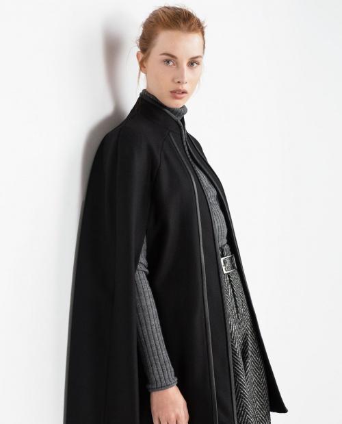 Zara femme manteau cape - Cape femme hiver ...