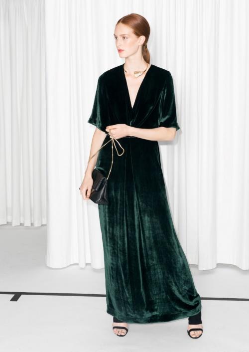 comment porter la robe longue en hiver