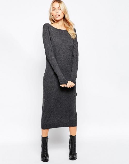 Robe longue en laine tenue d été femme   Adventech 1f9e626b4477