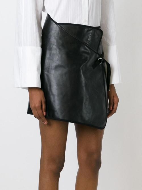 413bae71f09a Jupe cuir portefeuille jupe jupon longue