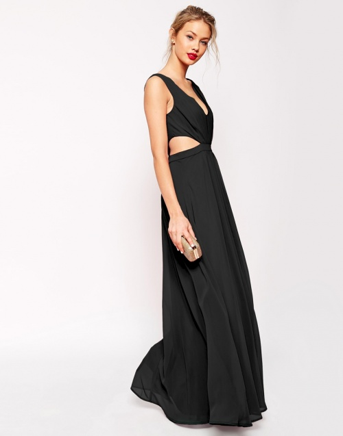 longue robe de soiree asos la mode des robes de france. Black Bedroom Furniture Sets. Home Design Ideas