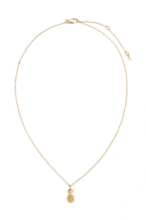H&M - Collier ananas or