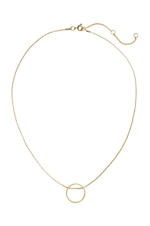 H&M - Collier rond or
