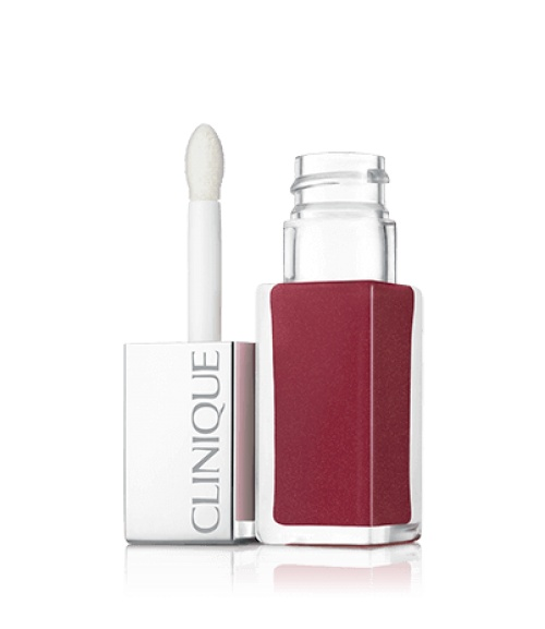 Clinique Pop Lacquer Rouge laque + Base - Love Pop