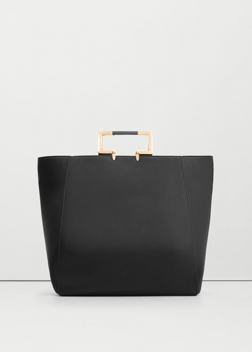 Mango tote bag anse metallique