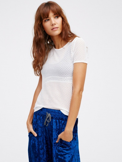 Free People - T-shirt résille