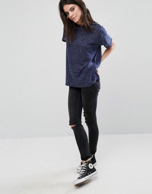 Asos - T shirt moucheté