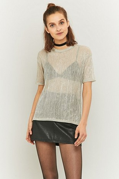 Urban outfitters - T-shirt lurex