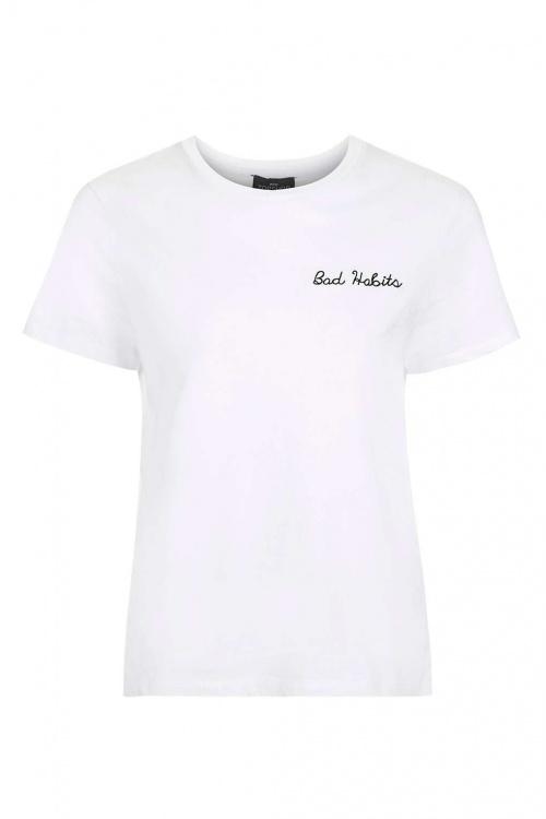 Topshop - Tee shirt brodé