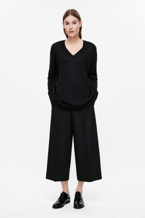 COS jupe culotte noire