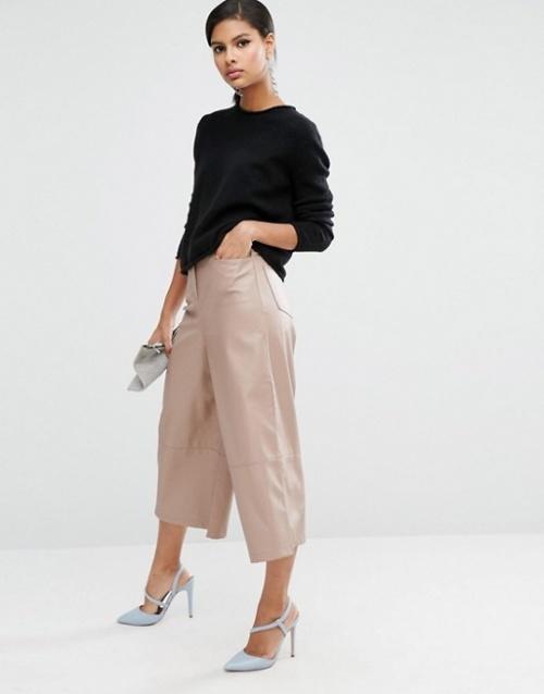 Asos jupe culotte rose pale