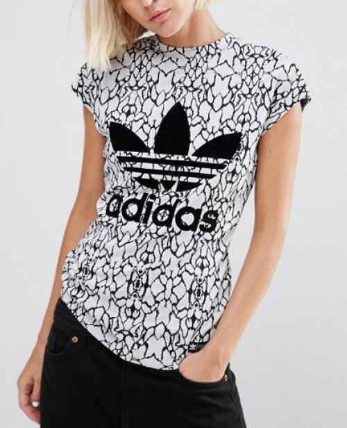 Adidas Originals - t-shirt imprimé logo