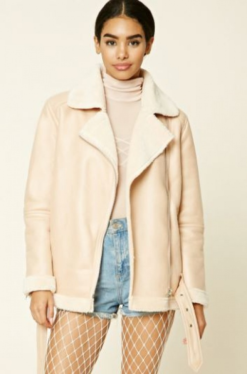 Forever 21 - shearling beige