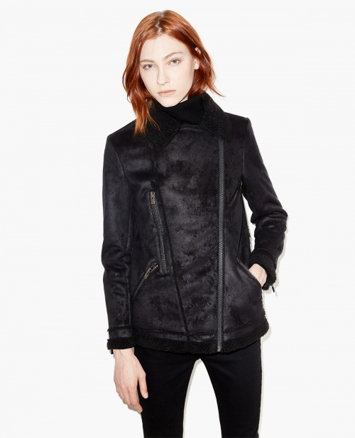 The Kooples - shearling noir
