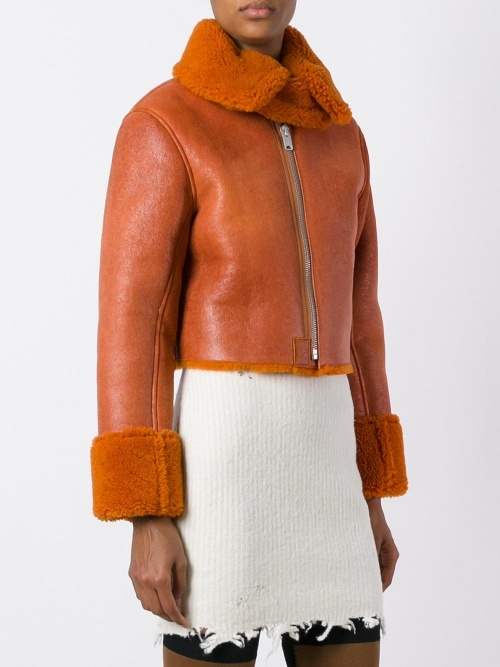 Yeezy - shearling court orange